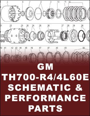 TH700R4 Transmission Schematic