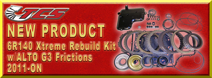 6R140 Transmission Rebuild Kit 2011-ON