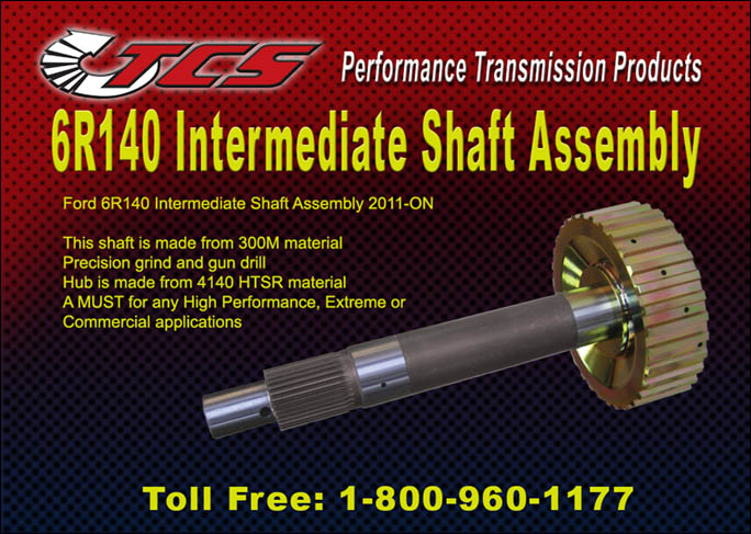 6R140 Intermediate Shaft Assembly