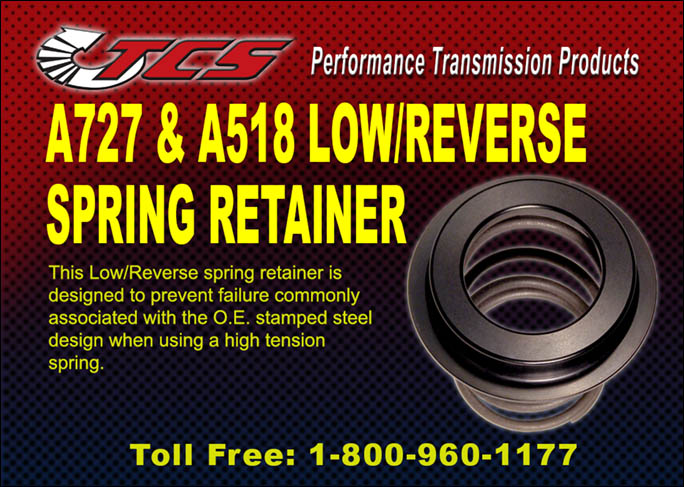 TF727 A518 Low Rev Spring Retainer