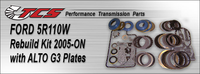 5R110W Rebuild Kit 2005-ON w/ALTO G3 Plates